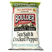 Boulder Chips Sea Salt & Cracked Pepper
